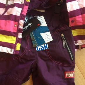 Helt nye skibukser fra tth samt næsten ny jakke fra REima ( den er brugt et par gange )