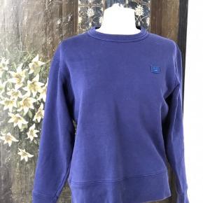 Acne Face sweatshirt - super velholdt ingen slid eller pletter ... Farve er ligeledes som ny ... nypris 1500,-