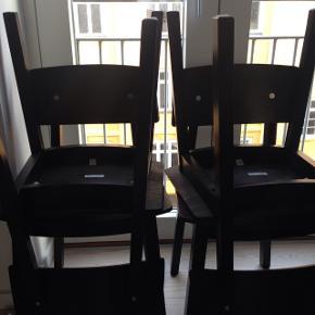 4 stole sælges samlet. Ikea.