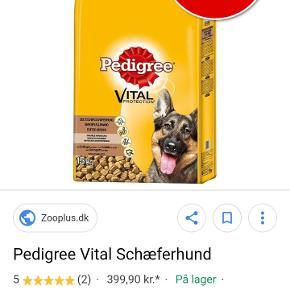 Uåbnet :) sælges da vores hund har skiftet mad type.