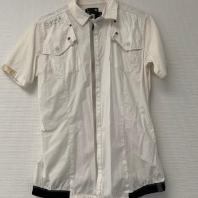 Hvid kortærmet skjorte fra G-Star Raw  Str M