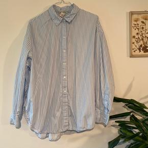 Stribede oversize skjorte