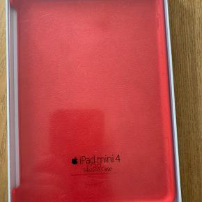 Flot rødt original bagdæksel/cover i silikone til iPad 4. Helt nyt. Fejlkøb.