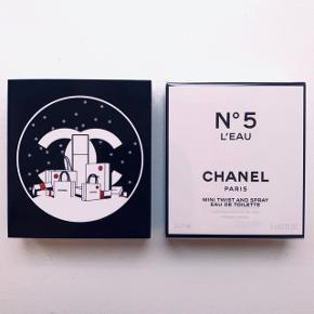 N5 l'eau twist and spray.   Sød lille størrelse - perfekt til rejser eller til at have med i håndtasken. 3 x 7ml  Aldrig været brugt - stadig plomberet / i folie.   Bytter ikke.