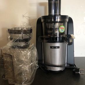 Helt ny slowjuicer fra Wilfa, aldrig brugt og stadig i plastik   Kvittering og æske haves ikke længere   Nypris 3000 - BYD gerne   Kan sendes hvor køber betaler forsendelse