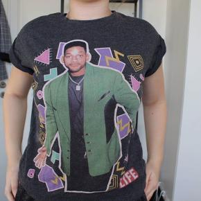 T-shirt med motiv af Will Smith