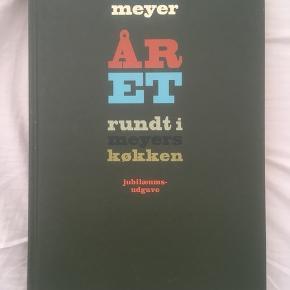 Claus Meyers kogebog Året rundt i Meyers køkken, jubilæumsudgave  Sælger da jeg ikke får den brugt Se også mine andre annoncer