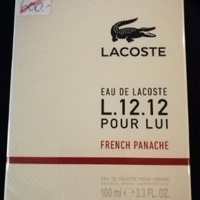 Helt ny Lacoste L.12.12. Pour Lui 100 ml EDT. Mp. 600 kr. Nu. 300 kr. Se på billederne for mere information.