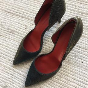 Helt nye Malene Birger Stiletter. Aldrig brugt.  style : Paxilow
