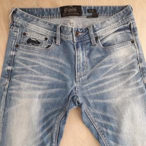 Lækre cowboybukser/Jeans. Kun brugt få gange. Skinny model. Længde 32.
