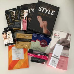 Beautypakke m. ubrugte produkter