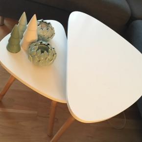 Sofaborde fra Bilka. Købt i januar 18.