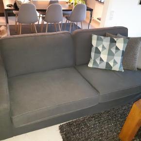 2 stk  Ikea sofa sælges. 4 år gamle. Nypris 3500 stk. Rigtig pæne og velholdte. Ingen børn/dyr/røg. 300 kr pr. stk. 500 for begge. Skal hentes i Jyllinge