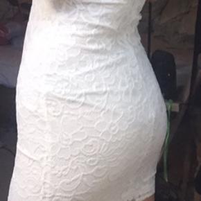 Fin kjole fra NELLY.com, som jeg ikke nåede at få byttet. Aldrig brugt.