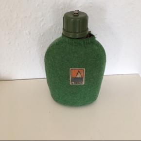 Retro feltflaske drikkeflaske spejderflaske Drikkedunk til camping Eller vandring
