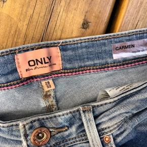 Flotte Only jeans str 28 😀 *Ben længde 32  * brugt 4 gange 🌸🌸🌸🌸