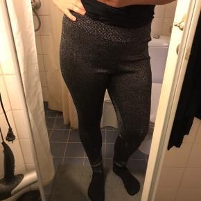 Glimmer bukser str L - aldrig brugt