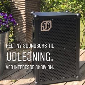 Udlejning af Soundboks 2 højttaler.