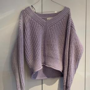 Chunky sweater fra H&M i en skøn lilla farve!    Tags:  Envi, zara, H&M, Monki, veromoda, bestseller, only, weekday