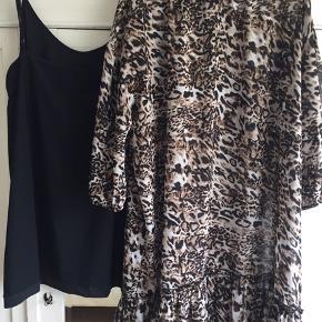 Lækker kjole med underkjole  BYD