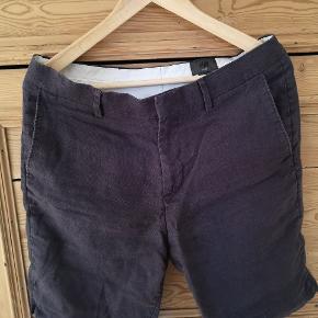 Fine hør shorts