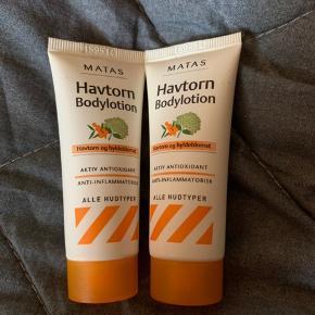 🌸 vare: havtorn bodylotion - 20 ml  🌸 mærke: Matas  🌸 mp: gratis - køber betaler Porto - sender med DAO og postnord
