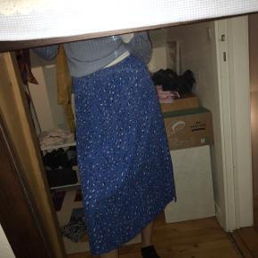 Kjole lavet om til nederdel - elastik i livet