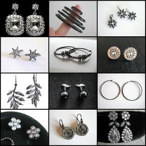 Uden tvivl de smukkeste øreringe Julie Sandlau nogensinde har produceret. Oxideret sølv med masser af klare zirkoner.  Standen er som ny. Nypris 5500,-  Pris 2250,- (fast pris - en anden har dem til salg til 4000 herinde)   Jeg har en ufattelig samling af Julie Sandlau smykker - Sig endelig til, hvis du har lyst at se hele samlingen.