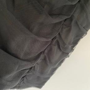 Fin sort kjole uden stropper, xs. Går mig lige over knæet (jeg er 165)  Brugt et par gange, fejler intet.  Ingen bytte. Porto kommer oveni.  #30dayssellout