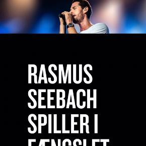 3 stk. Rasmus Seebach billetter sælges til koncert i fængslet i Horsens d. 24. Maj.   Stk. Pris 250 kr.  Sælges samlet for 650 kr.   Kan sende billetterne på mail.