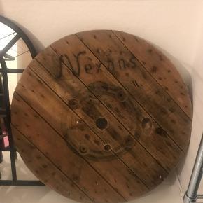 Bordplade fra fra kabeltromlen - olieret og lakeret 😊