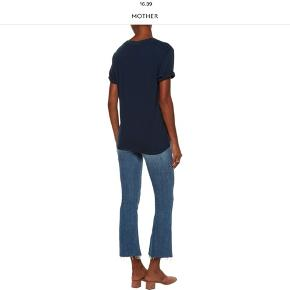 High waisted cropped jeans from Mother. Size w29.