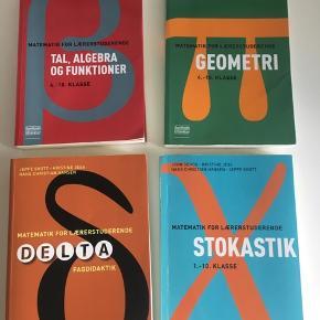Matematikbøger til læreruddannelsen.  150 kr. pr. stk.