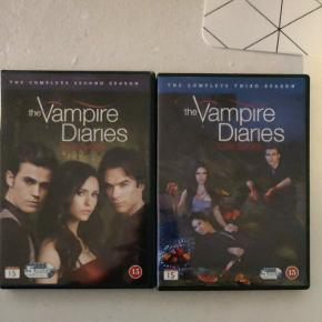 The vampire diaries sæson 2-3 sælges.