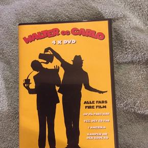 Walter & Carlo  4 x dvd  Op på fars hat Yes det er far I Amerika Kampen om den røde ko