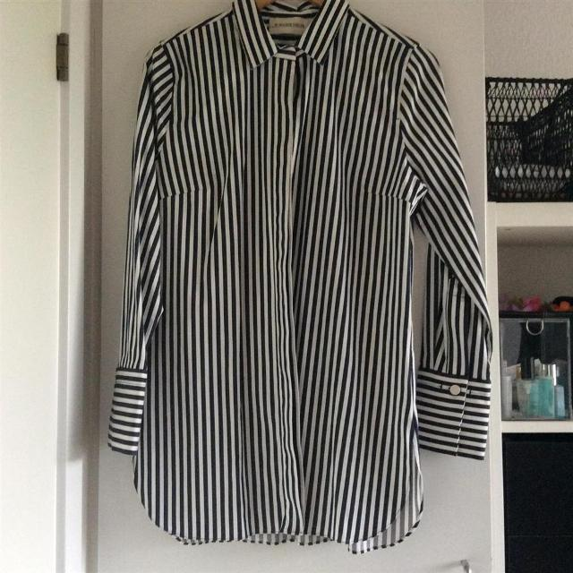 Køb By Malene Birger   TIRANAMUS Skjorte (SORTHVID)