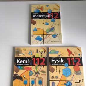 Formelsamlinger til fysik, kemi og matematik. 70 kr. pr. stk.