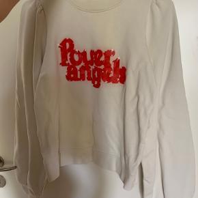 Rigtig flot ganni sweater/ trøje Power Angel  Str small  Rigtig fin stand
