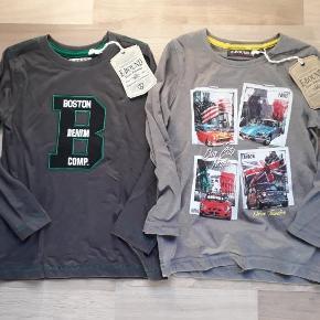 Helt nye trøjer i str. 110. 30 kr. per trøje, eller begge for 50 kr.