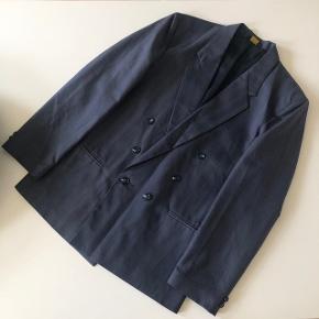 Vintage dobbeltradet blazer