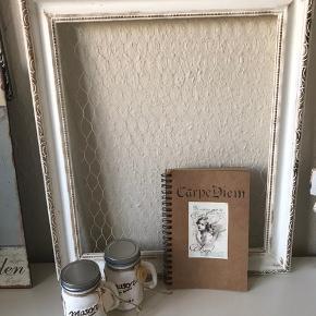 Sød lille notesbog Høj 18 cm Bred 11 cm