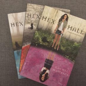 Hex Hall serie (bog 1-3) = 30 kr.