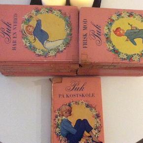 PUK bøger! Ældre, originale Puk bøger fra 1950'erne med Christel tegninger. 20 stk. ialt - sælges samlet!
