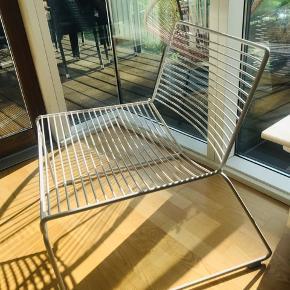 HAY lounge chair i hvid