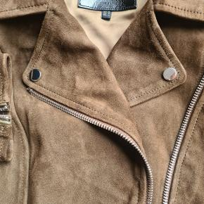 Massimo Dutti pels- & skindjakke