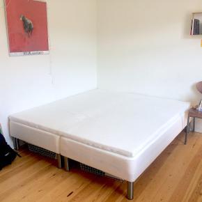 180x200 cm boxmadras fra Bilka  Købt for et halvt år siden  Hårdhed: Medium