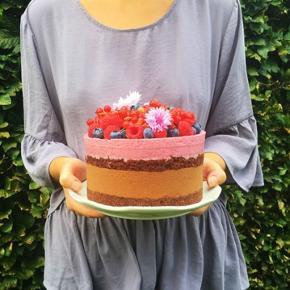 Smuk lavendelfarvet bluse fra Vero moda. Passer en s eller m