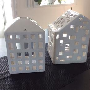 Kähler store lys huse  Den ene har et lille afslag og sælges derfor billiger. 200kr og 175kr