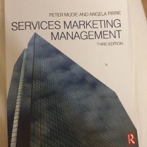 Service Marketing Management, 3. Udgave. Peter Mudie & Angela Pirrie  ISBN: 978 0 7506 6674 9  Meget få overstregninger