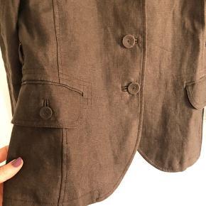 Smuk vintage hør-blazer 🤎 #30dayssellout